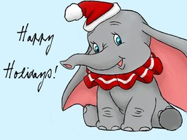 Christmas_Dumbo_by_JellybeanMonster