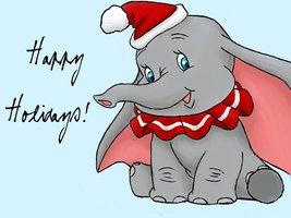 Christmas_Dumbo_by_JellybeanMonster