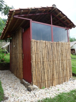 Eco toilets and showers