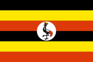 drapeau ougandais