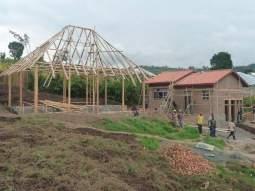 Construction du restaurant et de la cuisine