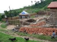 Construction de la fausse septique