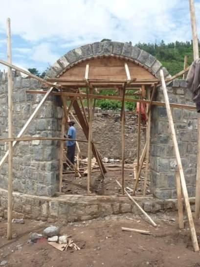 Construction de la réception