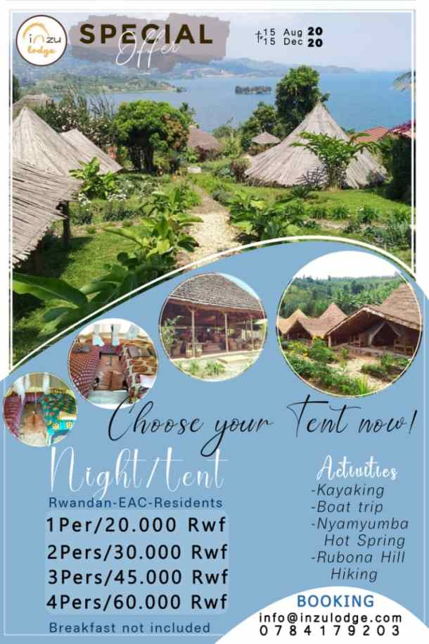 Special Offer INZU Lodge
